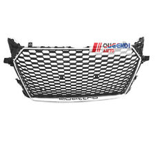 TTRS Style Grille Honeycomb Grill Silver for Audi TT 2015 2016 2017