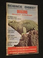 SCIENCE DIGEST - DECEMBER 1969 - MUMMIES - PREDICT WEATHER - DRAGONS - GYOTAKU