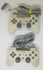 2 x Official Sony PlayStation 1 PS1 PSOne Controllers Control Pads  SCPH-110