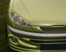 PEUGEOT 206 - SCHEINWERFERMASKEN / SCHEINWERFERBLENDEN (ABS) - TUNING-GT