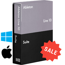 Ableton Live Suite 10 Full version ✅FOR WIN & MAC ✅ Lifetime 🚀Fast Delivery✅