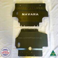 Nissan Navara D40 2012 - 2015, Spanish/Thai st/stx rx 3mm Mild Steel Bash Plates