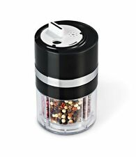 Plastic Spice Jars and Racks