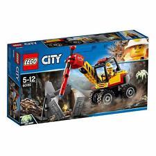 LEGO 60185 City Mobile Mining Power Splitter With Functioning Jackhammer Playset