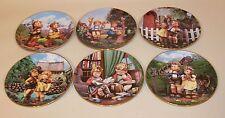 12 Danbury Mint Hummel Little Companions 8 Inch Collector Plates Complete Set
