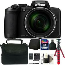 Nikon COOLPIX B600 16MP 60x Optical Zoom Digital Camera with 32GB Deluxe Bundle