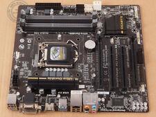 Original GIGABYTE GA-B85M-D3H, LGA 1150/SockeL H3, Intel B85 Motherboard DDR3