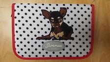 Sammies Federmäppchen Glamour Girl Premium  Chihuahua Federmappe Hund Chiwawa