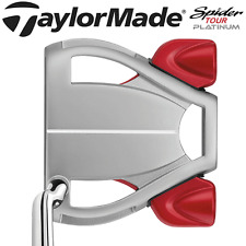 """LTD EDITION"" TAYLORMADE SPIDER TOUR PLATINUM 34"" PUTTER + HEADCOVER / RARE !!!!"