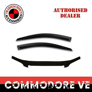 Bonnet Protector Guard + Weathershields for Holden Commodore VE 2006-2013 Ute