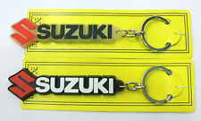 #1 Pc. Key Chain - SUZUKI Fine Rubber , No Scratch No Breakage