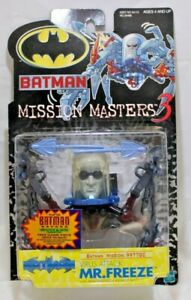 Batman Mission Masters 3 Mister Freeze Figure Hasbro 2000 NIB