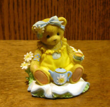 """Cherished Teddies #CT1603 ROSEANNE, """"SITTING DOWN FOR TEA"""", Members Only Piece"""