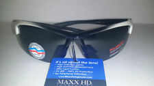 Black 100% UV400 Polycarbonate Lens Fishing Sunglasses