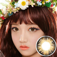 Hasel Farbige Kontaktlinsen Color Contact Circle Lenses DIA14.5mm PoH