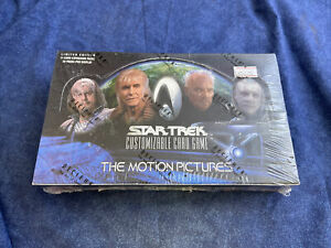 Star Trek CCG The Motion Pictures Booster Box Card Game Decipher - Sealed A574