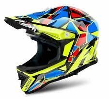 Airoh Archer Junior Youth Kids Off Road Motocross Enduro MX Helmet Chief Blue
