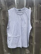 Godson Sleeveless Monster Logo Tee Men's grey