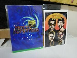 """U2 Postage Stamps Irish """"An Post"""" complete set  2002 + BONUS U2 Comic RARE"""