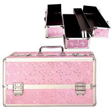 Lockable Vibrator Case - Large - Pink - Discreet Adult Novelty Toy Box