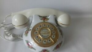 Royal Albert Old Country Roses Telephone 1962 fully tested and working vgc clean