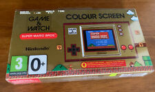 More details for nintendo game and watch 35th anniversary super mario bros brand new unopened