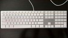 Genuine Apple Aluminium USB Wired Keyboard with Numeric Keypad  US