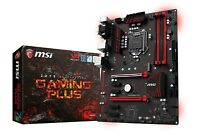 MSI Z270 GAMING PLUS DDR4 CrossFire ATX Motherboard