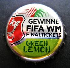 BECK'S GREEN LEMON - GEWINNE FIFA WM FINALTICKETS 2018 / BOTTLE CAP / CROWN CAP