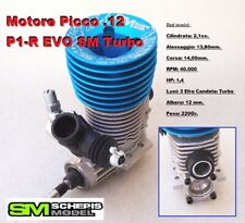 Engine Motore 2,1cc Picco P1-R EVO SM .12 Turbo for 1:10 Mugen NT1 Capricorn