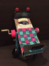 Monster High MH Dead Tired Frankie Stein ROTATING BED & MIRROR Doll Furniture