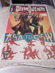 The Delinquents #2B, Valiant, 2014, NM, Shawn Crystal Kung Fu Variant