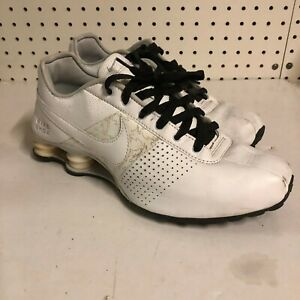 Nike Shox Deliver Men 317547-112 White Athletic Running Shoes Size 9.5 US