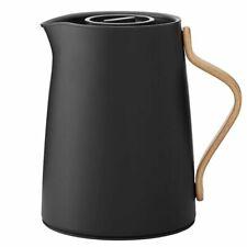 Stelton Kaffeeisolierkanne Emma matt schwarz