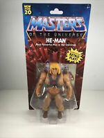 2020 Masters of the Universe Origins Walmart He-Man Battle Figure MOTU