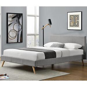 Polsterbett Einzelbett Bettgestell Bett 140 x 200cm Latenrost - B-Ware