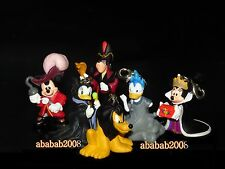 Yujin Disney Halloween Mickey DONALD Goofy Swing Figure Gashapon (full set 6 pcs