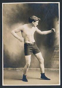 1910 FREDDY WELSH, Lightweight Boxing Champion Vintage Dingman Studio Photo