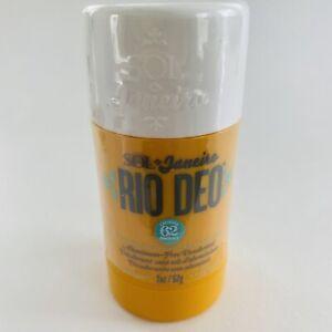NEW Sol De Janeiro Rio Deo Cheirosa 62 Aluminum-free Deodorant 2oz Sealed ☀️