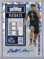 DALTON KEENE - 2020 Contenders CRACKED ICE Rookie Ticket VARIATION AUTO #/22