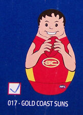 Gold Coast Suns AFL Kids Original Inflatable Tackle Buddy 1m Tall New