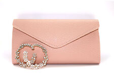 Long Wallet Baby Pink Color Leather - Card Holder Clutch - Mothers Day Gift🎁