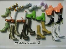 12 Pair Bratz Shoes - No Need to Match Skin Color