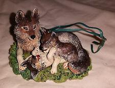 Hallmark Keepsake Ornament - Wolves 1998 Mark Newman