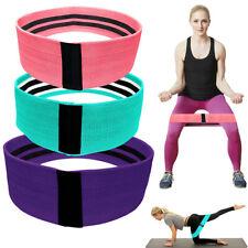 Anti Slip Gym Hip Resistance Bands Fitness Equipment Training Exercise Yoga