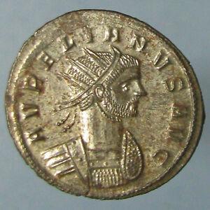Full Silvered Mint State Aurelian RESTITVT ORBIS Antoninianus from Serdica