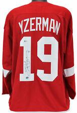 Steve Yzerman signed Detroit Red Wings Home Jersey BAS