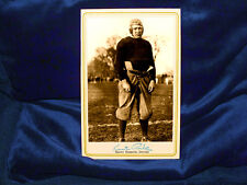 Knute Rockne Cabinet Card Vintage Photo Reprint Sports Football Autograph RP
