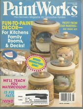 Paint Works Magazine - August 1994 - Profit From Your Painting and More!
