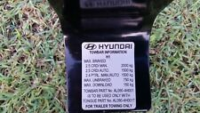 Genuine Hyundai iLoad / iMax Towbar Tongue. TQ